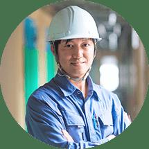 安心の専属職人による施工スピード施工、高品質にこだわっております。
